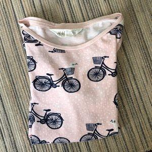 Girls H&M Polka Dot Cat T-shirt